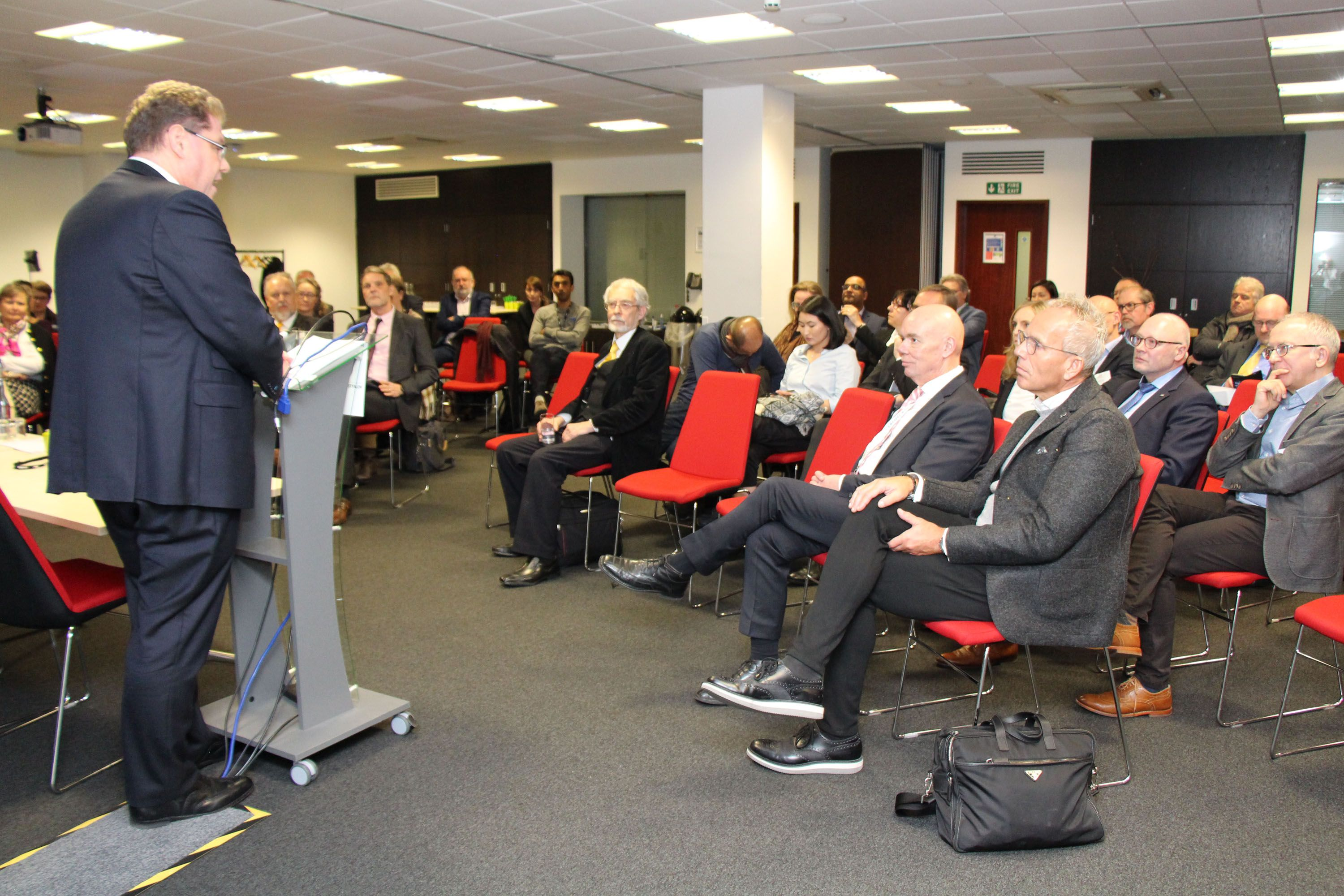 gds supports IHK delegation in economic exchange in Birmingham