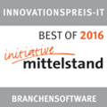 "In 2016, gds GmbH was awarded the IT Innovation Prize of the initiative mittelstand in the field of ""industry software"""