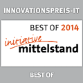 "In 2014, gds GmbH was awarded the IT Innovation Prize of the initiative mittelstand in the field of ""best of""."