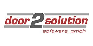 The logo of the gds sales partner door2solution software GmbH