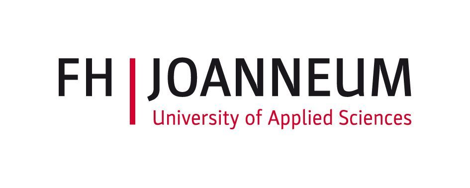 The logo of the FH Joanneum - University of Applied Sciences